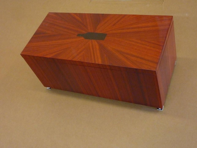 Brilliant Hickory And African Cherry Box  Reader39s Gallery  Fine Woodworking